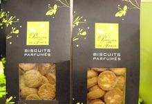 Les biscuits parfumés de Parfums de table
