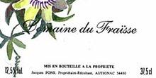 DOMAINE DU FRAISSE