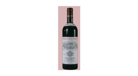 Rouge 2003 Cuvée Sérénité Fruité et Brillant