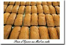 pain d'épice en cake
