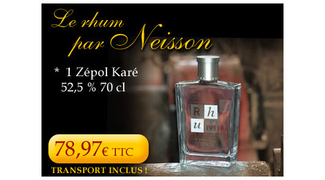 Pack Rhum par Neisson