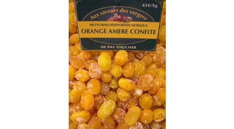 Orange amère confite
