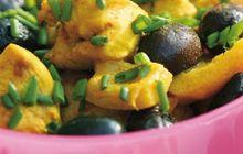 Marmite de poulet, olive et citron