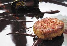 Foie gras poêlé aux Mi-cho-ko®
