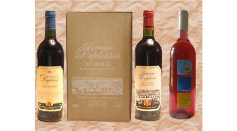 Outre à vin A.O.C. Bordeaux