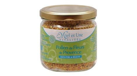 pollen de fleurs de provence