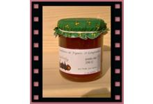 confiture Figue et gingembre