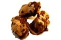 Macaron rhum raisin chocolat