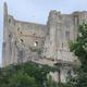 Les ruines du chateau d'Harcourt à Chauvigny