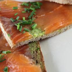 Le saumon fumé reste une entrée de Noel indétrônable !