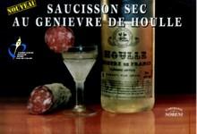 Saucisson sec au Genievre de Houlle