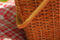 De l'herbe + une nappe + un panier = chouette, un pique-nique !