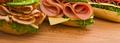 Les traditionnels sandwichs français : avec de la baguette, bien sûr !