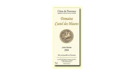 La Cuvée Antoine : Rouge AOC 2004