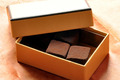 Quelques truffes en chocolat maison : un cadeau simple et délicat...