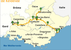 Balade gourmande en Provence Alpes Côte d'Azur