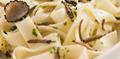 Tagliatelles fraîches aux truffes