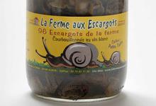 Fricassée d'escargots en chapelure servie avec une ratatouille tiède