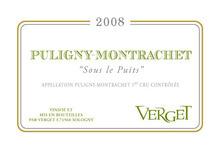 Maison Verget « PULIGNY-MONTRACHET 1ER CRU - SOUS LE PUITS »