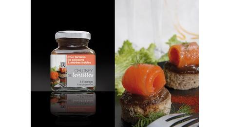 chutney de lentille à l'orange et au gingembre- SARL RIBEYRON