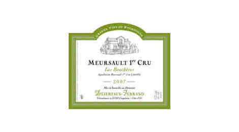 Meursault 1er Cru Les Bouchères 2007