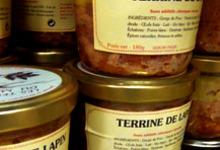 terrines du morvan à l'épicerie du Port Aubry