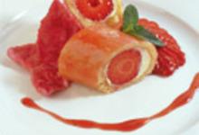 Coeur de fraisier aux senteurs de rose
