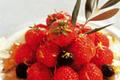 Fraises au jasmin et à l'huile d'olive vanillée