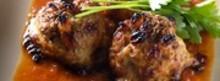 Boulettes de veau aux raisins secs