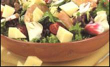 La salade comtoise - Méli-mélo des 4 saisons au Comté
