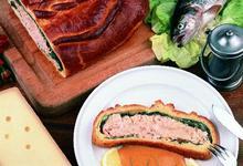 Coussin de saumon au Comté