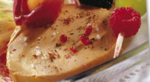Fois gras et magret en buisson ardent