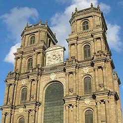 La cathédrâle St Pierrre de Rennes