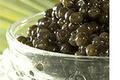 Caviar de Gironde sur son lit de parmentier d'huîtres