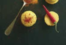 Macarons au Curry et Piment d'espelette