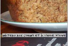 Gâteau aux coings et à l'huile d'olive