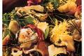 Salade de champignons sylvestres au Salers