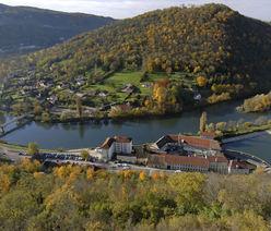 Vue de Besançon, Chaudanne et le Doubs