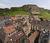 Vue des toits de Belfort et du Lion au loin