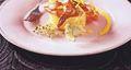 Pomme de terre aux crevettes et Fourme de Montbrison