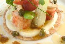 Tartelette de Crabe Royal de Norvège glacé au citron