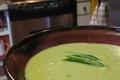 Crème aux légumes et poulet maison