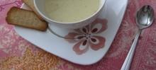 Crème de chou-fleur et cantaloup