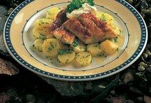 Filet de Lieu Noir de Norvège au four, sauce barbecue