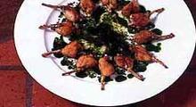 Cuisses de grenouilles au beurre persillé
