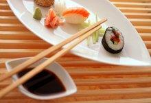 Sushi et sashimi de Truite des Fjords de Norvège