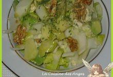 Salade d'Endives aux Fruits, Roquefort et Wasabi