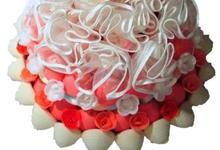 Gateau BEBE ROSE