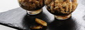 Crumble à la banane, au chocolat et au petit-beurre