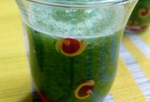 Soupe concombre kiwi